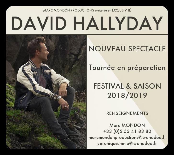 David Hallyday Marc Mondon Productions